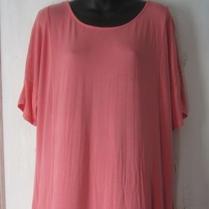 Chico's Coral Tee Shirt - Size 3 - XL 16